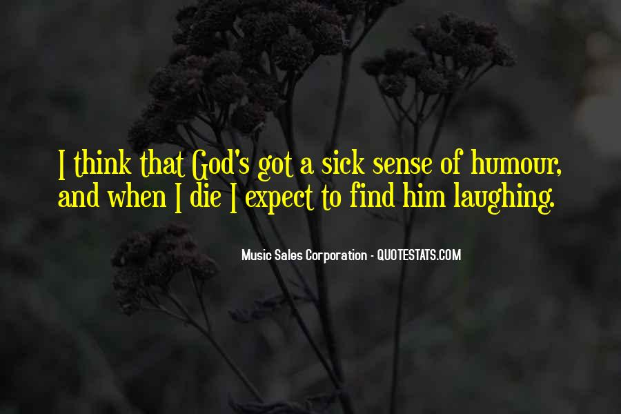 Quotes About Sense Of Humour #898146