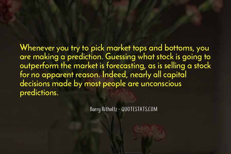 Quotes About Making Predictions #138503