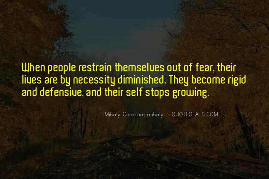 Quotes About Self Growing #1016410
