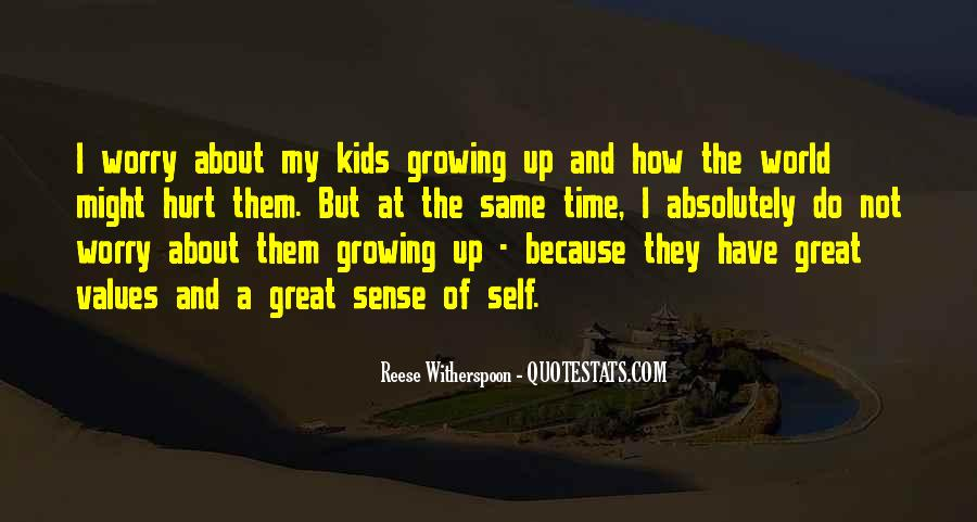 Quotes About Self Growing #323512