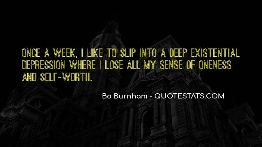 Quotes About Deep Depression #1067285