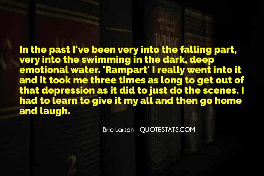 Quotes About Deep Depression #1259893
