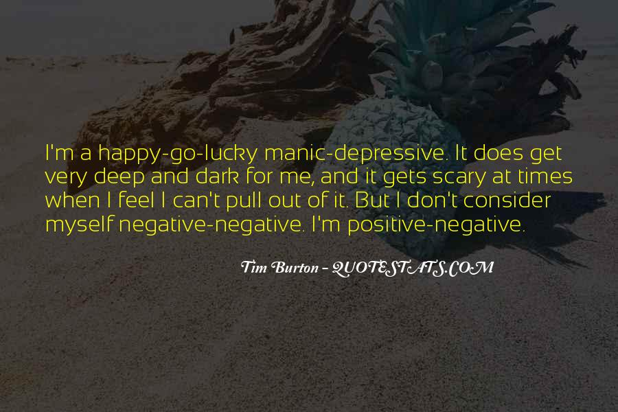 Quotes About Deep Depression #1273877