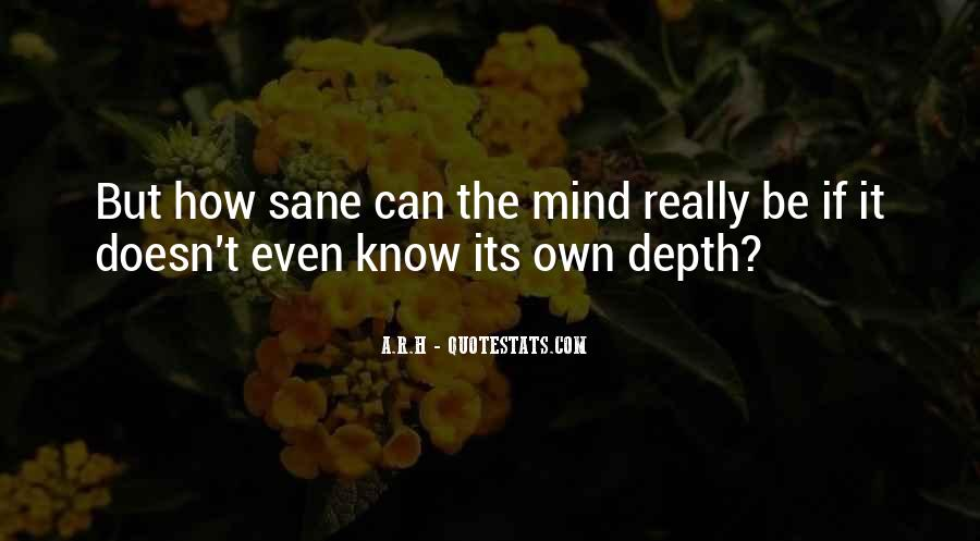 Quotes About Deep Depression #133364