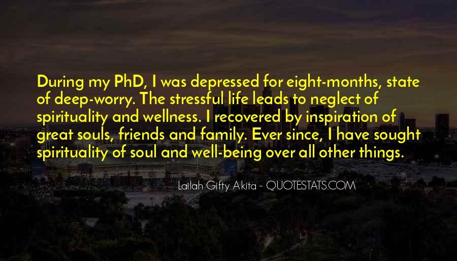 Quotes About Deep Depression #1511851