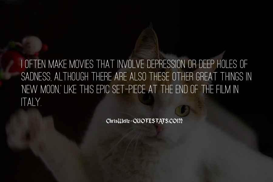 Quotes About Deep Depression #1541766