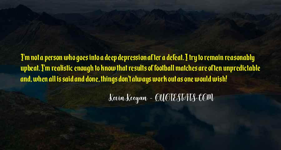 Quotes About Deep Depression #654531