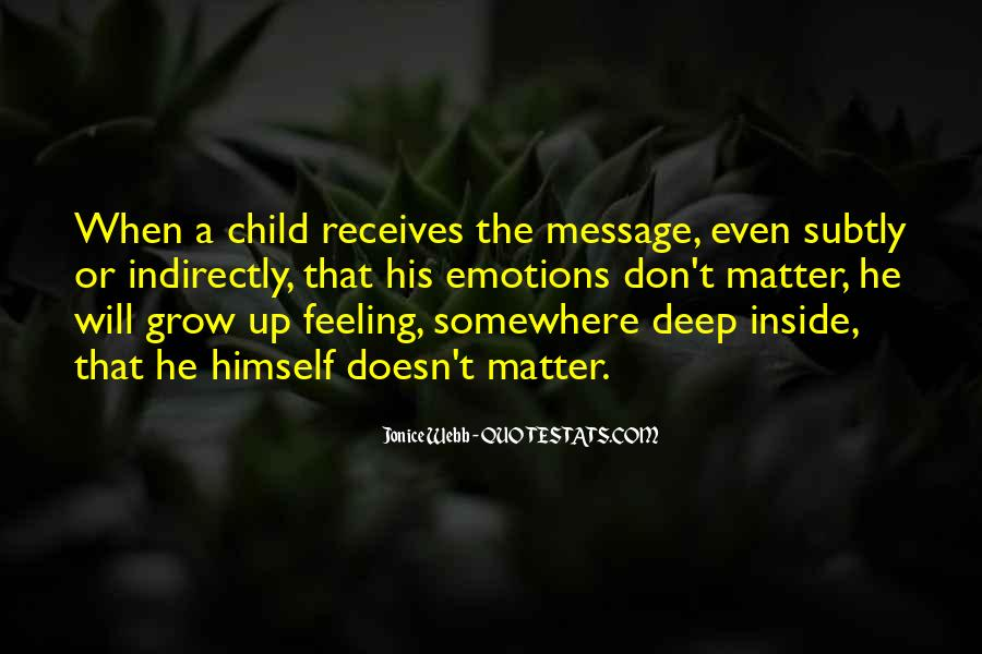 Quotes About Deep Depression #693353