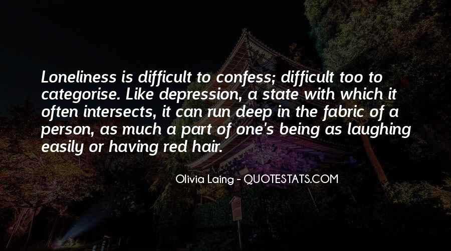 Quotes About Deep Depression #705230
