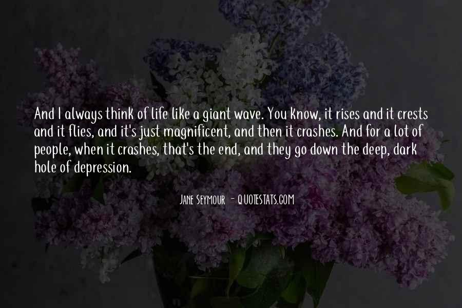 Quotes About Deep Depression #87376