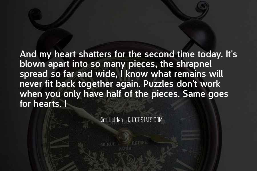 Quotes About I Wish I Could Go Back In Time #21143