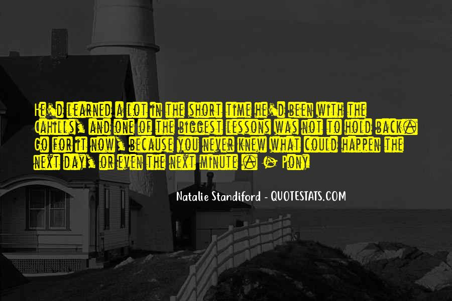 Quotes About I Wish I Could Go Back In Time #25198