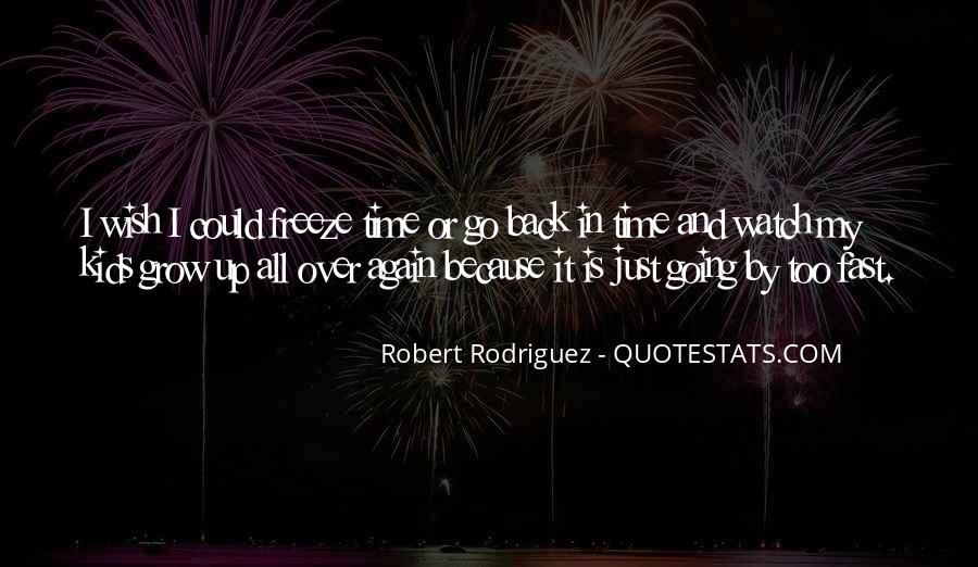 Quotes About I Wish I Could Go Back In Time #709895