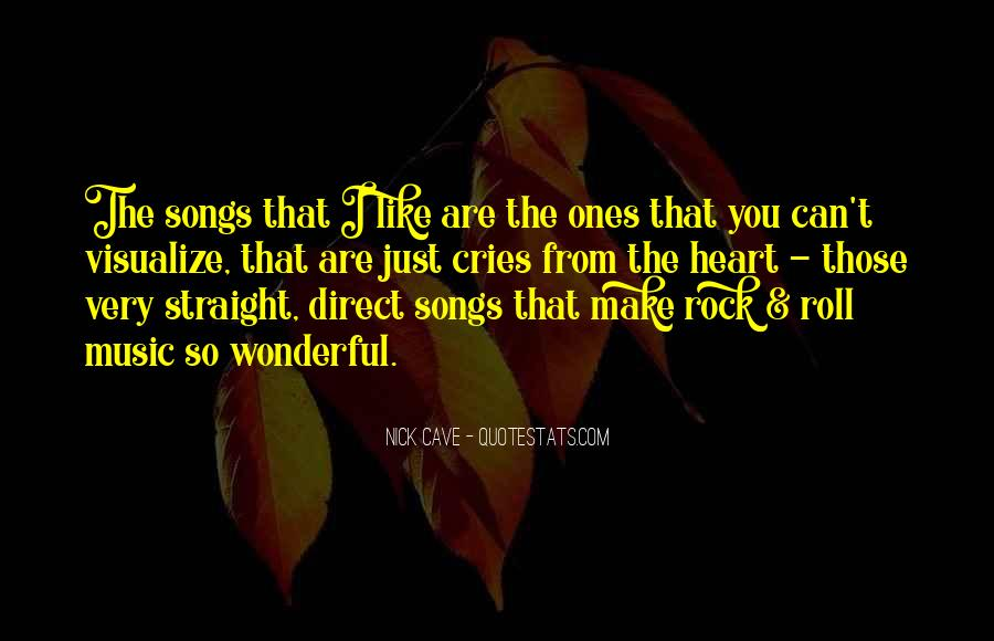 Quotes About Music From Songs #1206382