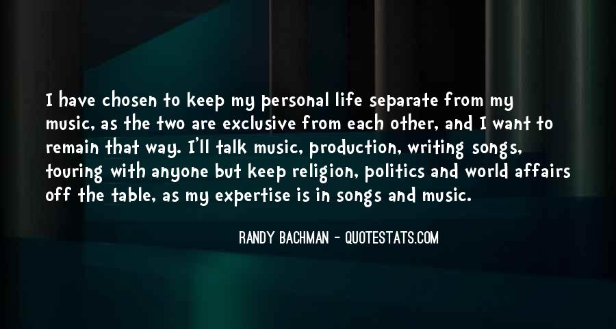 Quotes About Music From Songs #1239601