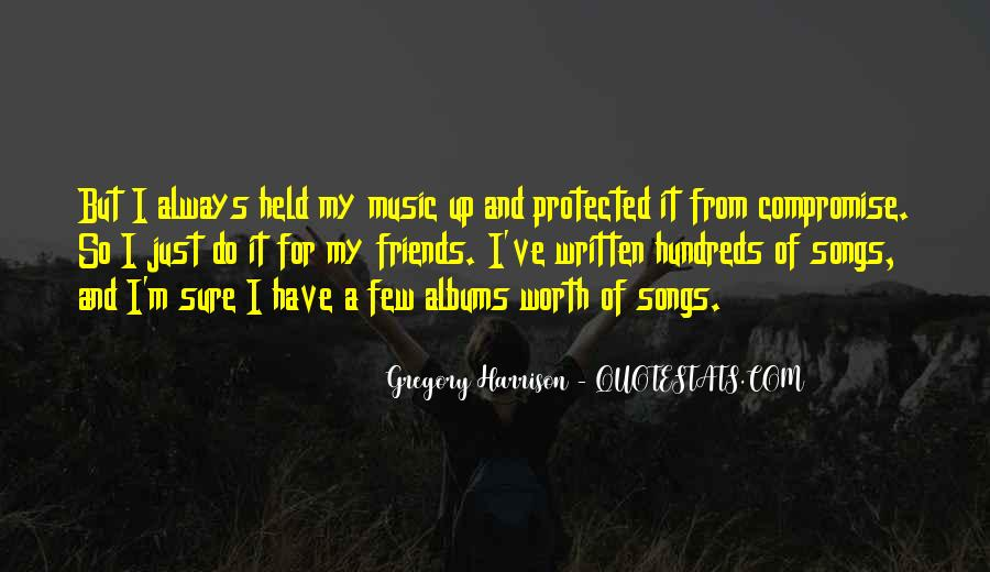 Quotes About Music From Songs #1266604