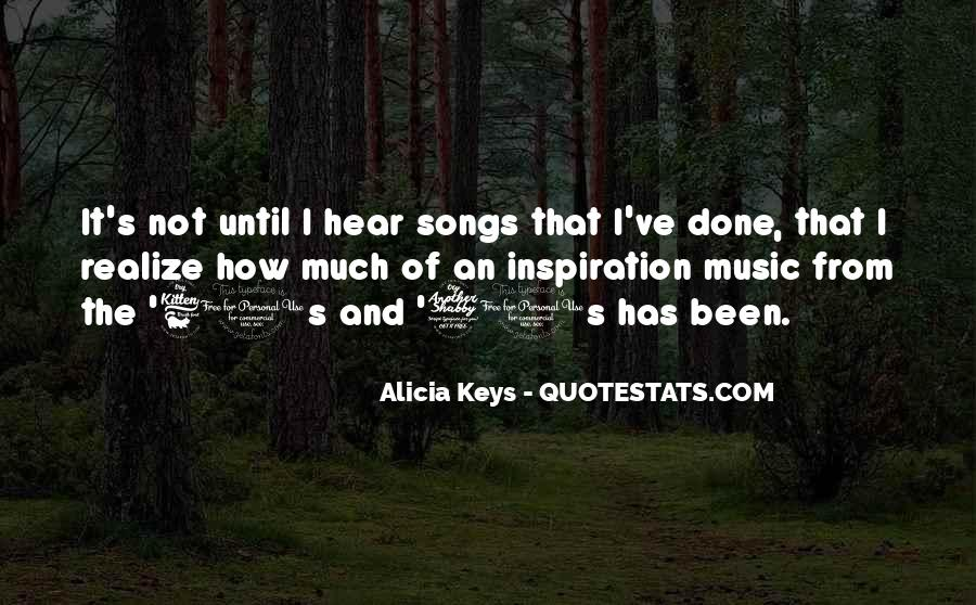 Quotes About Music From Songs #1298001