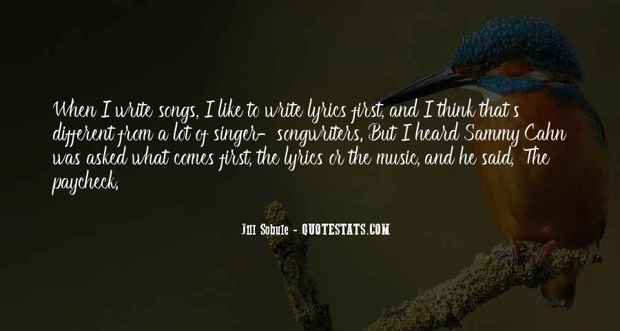 Quotes About Music From Songs #1344741