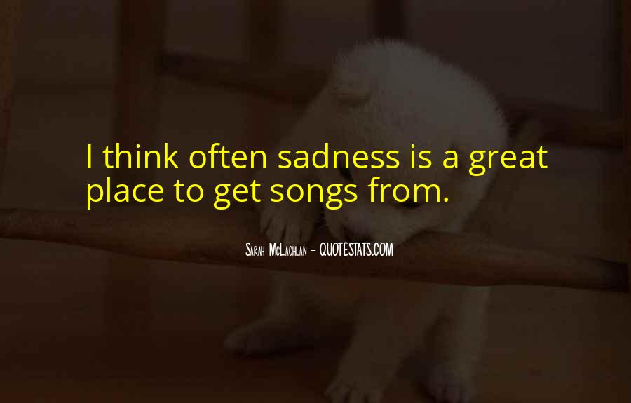Quotes About Music From Songs #1661710