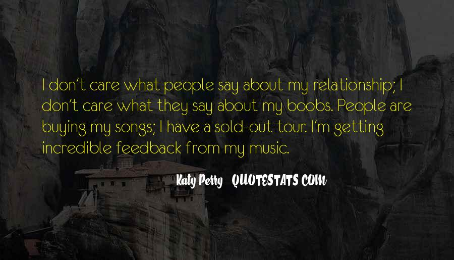 Quotes About Music From Songs #203646