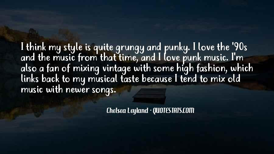 Quotes About Music From Songs #381195