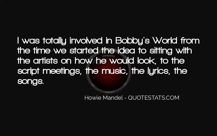 Quotes About Music From Songs #613769