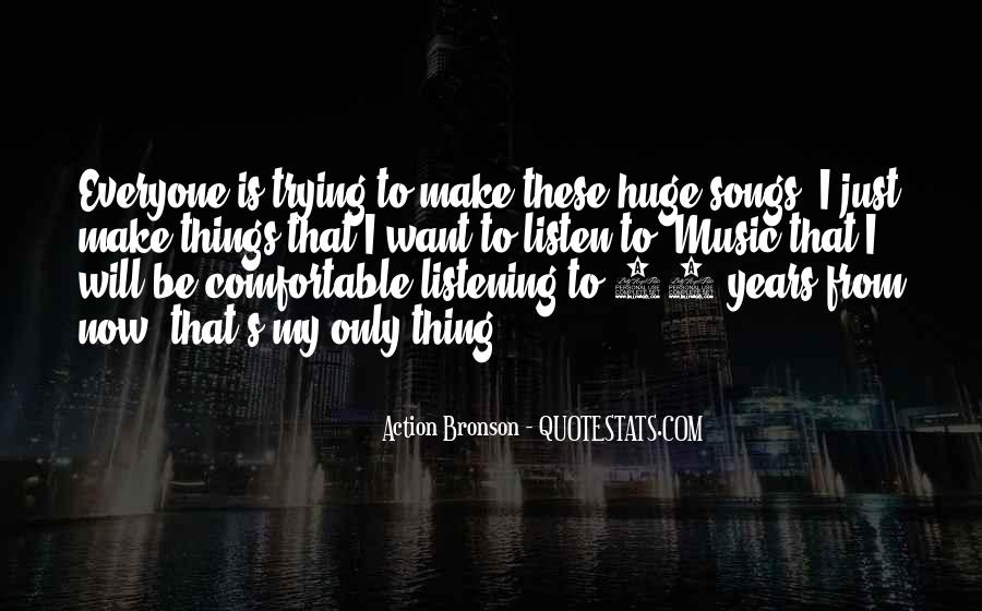 Quotes About Music From Songs #646967