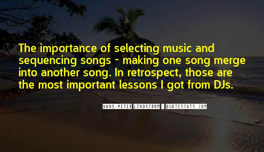 Quotes About Music From Songs #655216