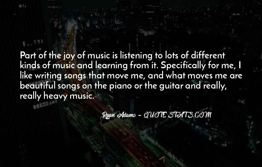 Quotes About Music From Songs #718891