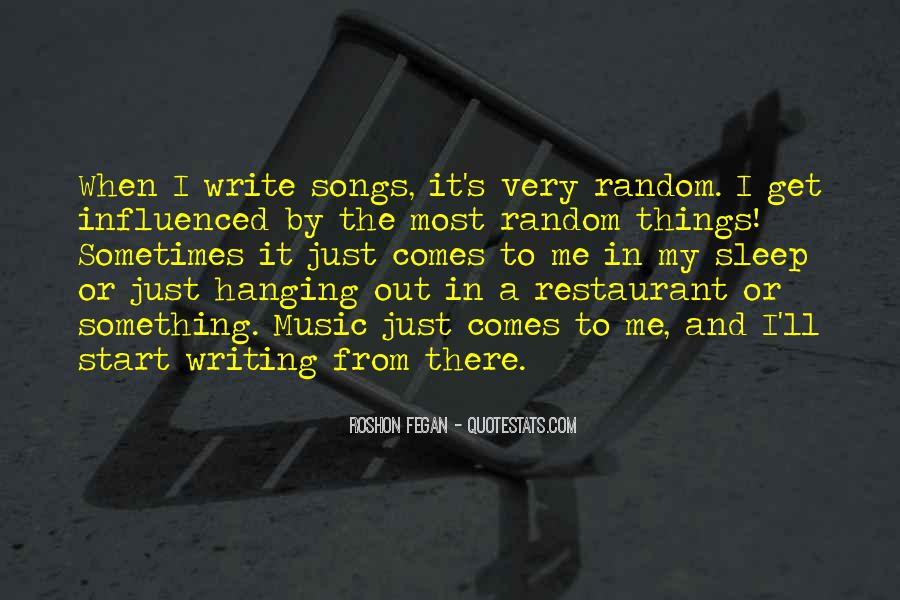 Quotes About Music From Songs #729028