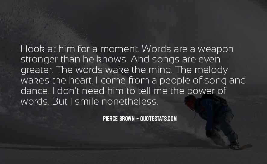 Quotes About Music From Songs #913421