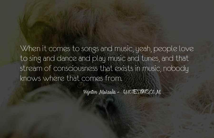 Quotes About Music From Songs #959283