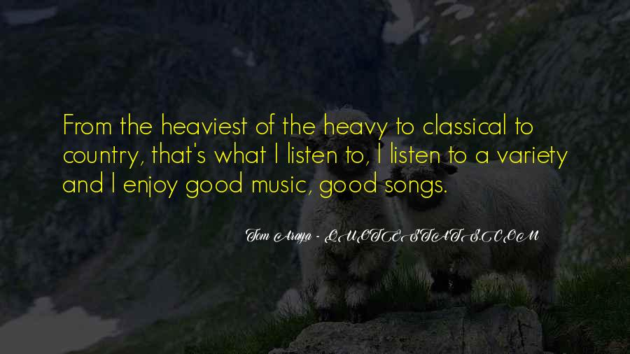 Quotes About Music From Songs #991952
