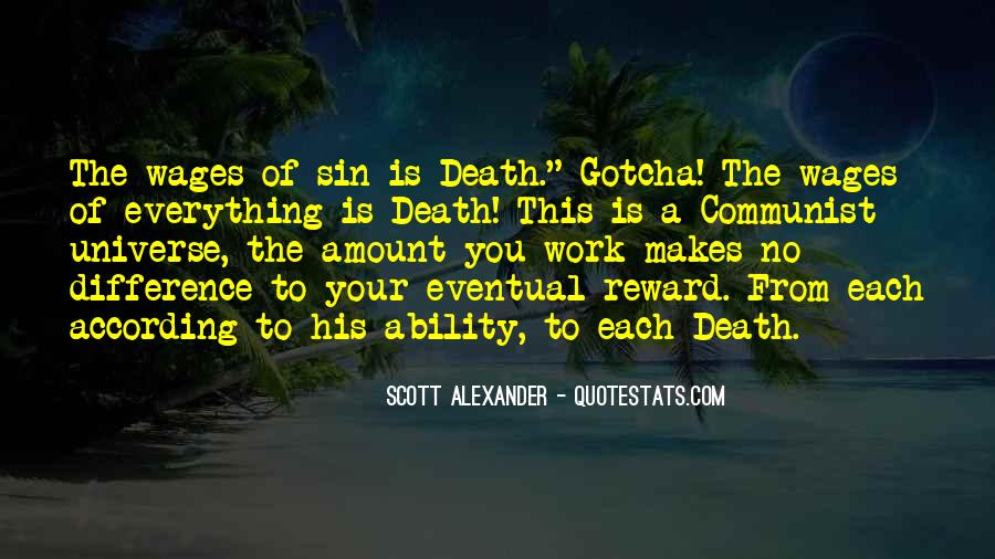 Quotes About Eventual Death #1103464