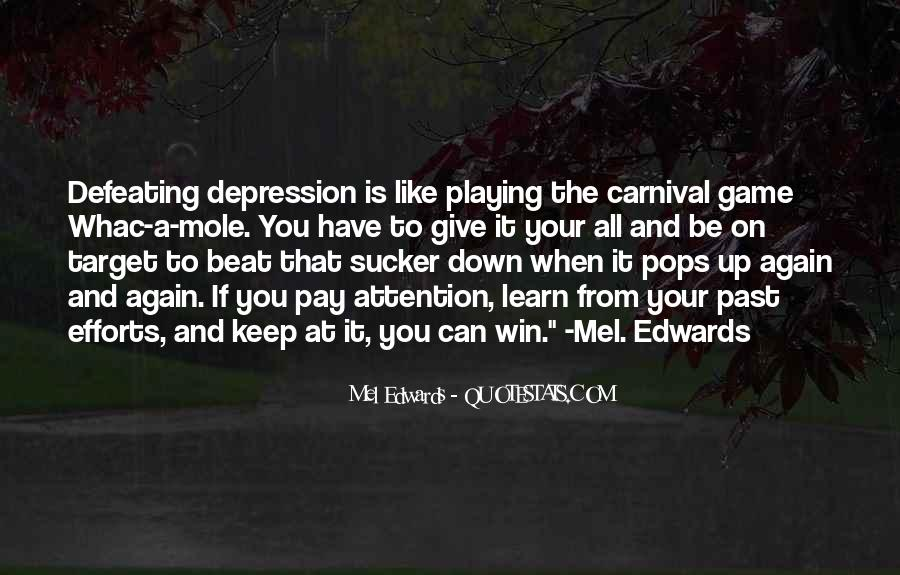 Quotes About Defeating Depression #223955
