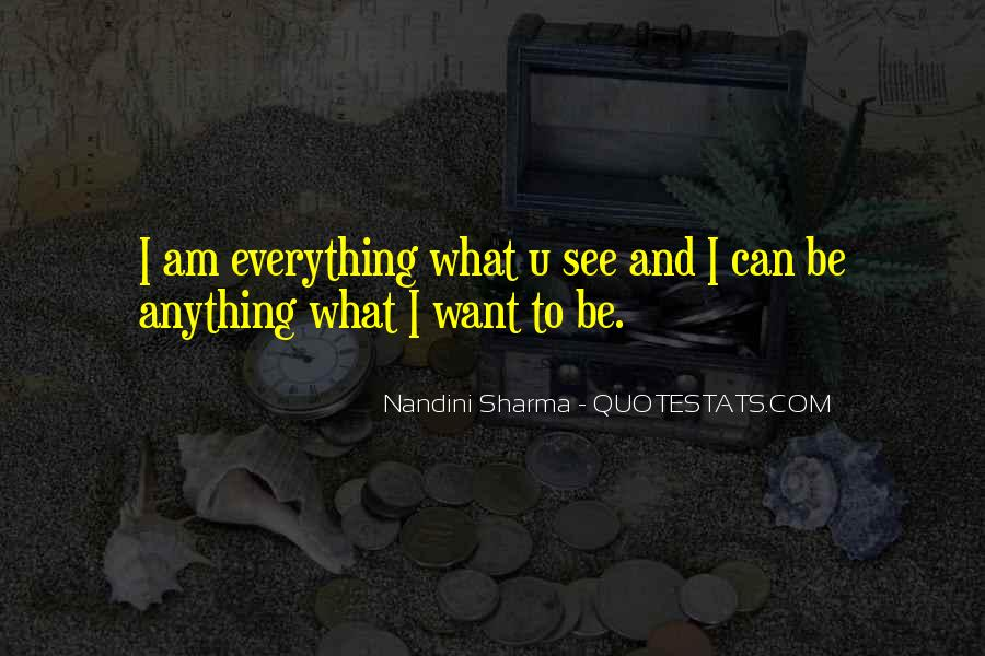 Quotes About What U See #1659601