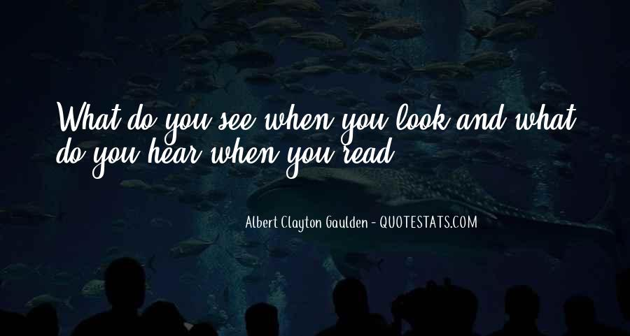 Quotes About What U See #1922