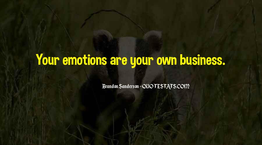 Quotes About Own Business #11190
