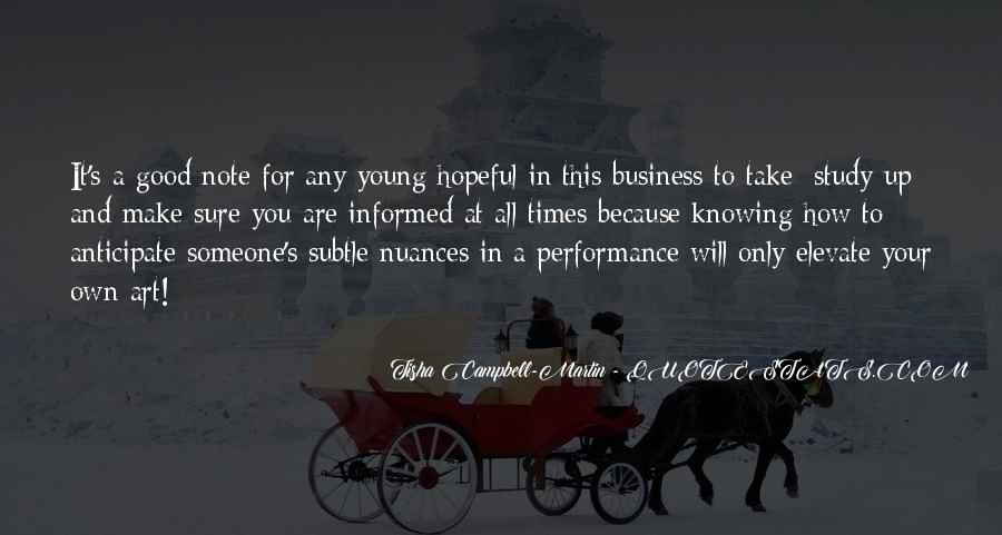 Quotes About Own Business #114845