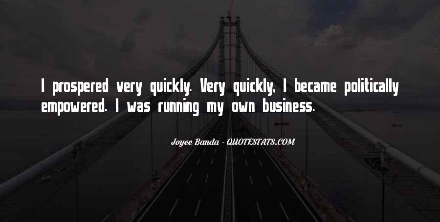 Quotes About Own Business #12363