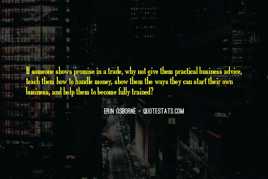 Quotes About Own Business #137294