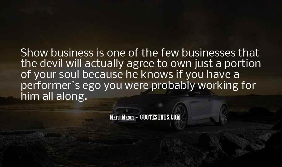 Quotes About Own Business #150971