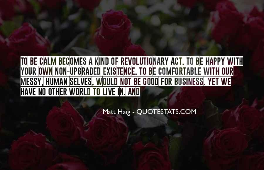 Quotes About Own Business #188035