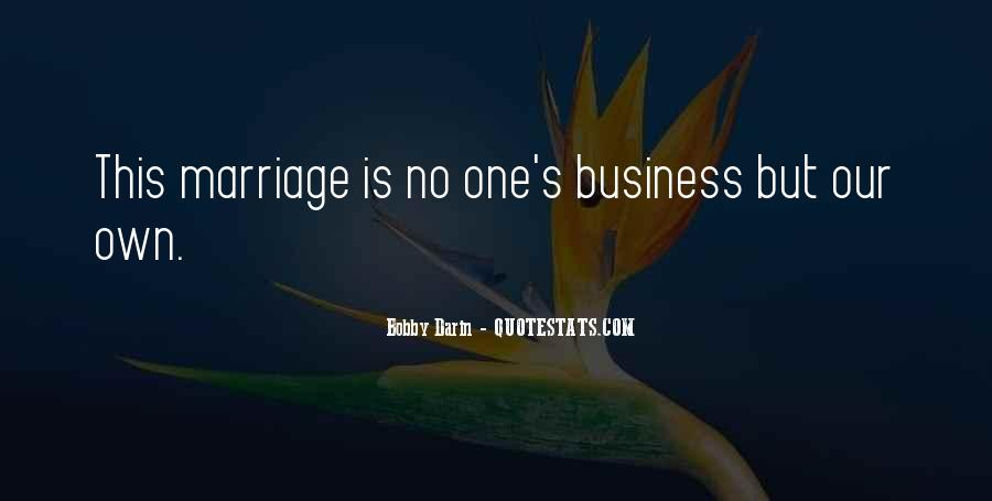 Quotes About Own Business #204995
