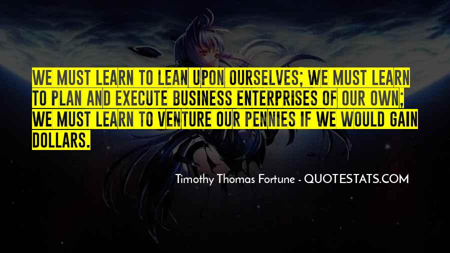 Quotes About Own Business #239790