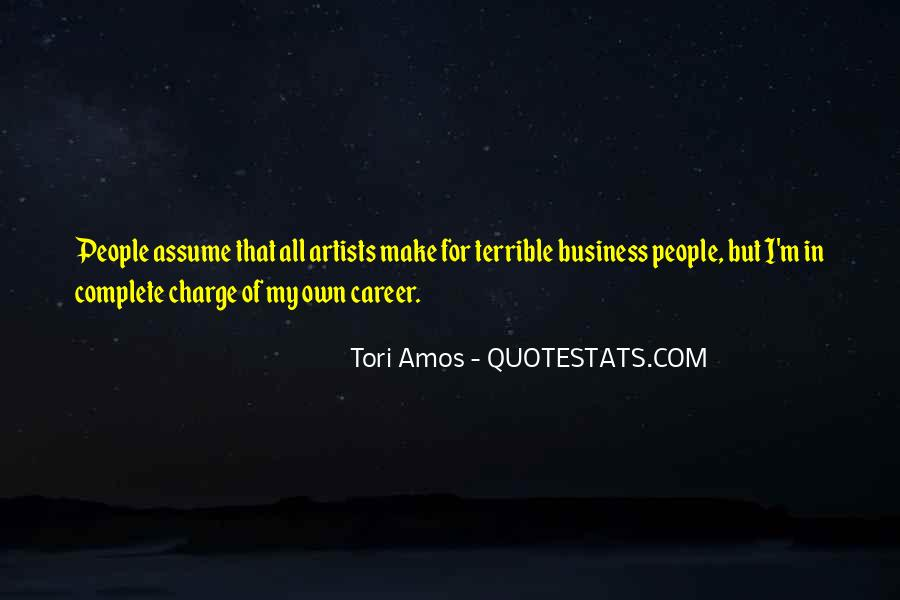 Quotes About Own Business #267382