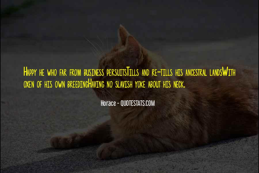 Quotes About Own Business #29252