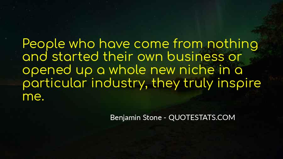 Quotes About Own Business #297204