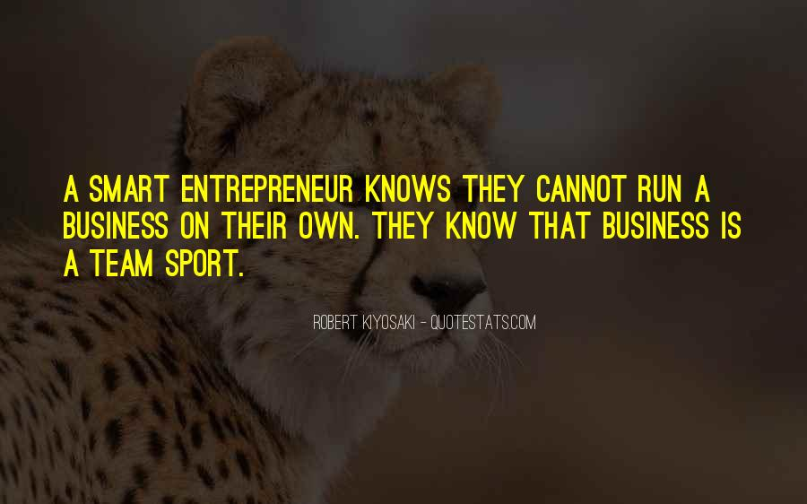 Quotes About Own Business #297936