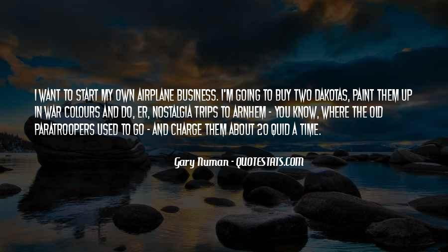 Quotes About Own Business #308263